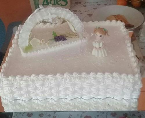 muñeca decoración comunión