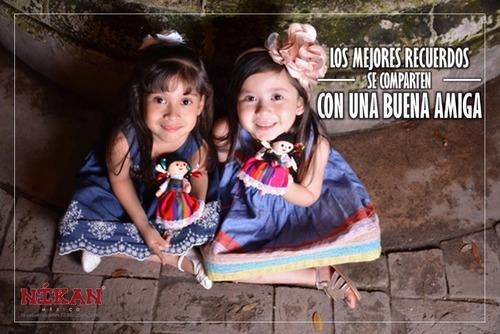 muñeca mexicana de trapo