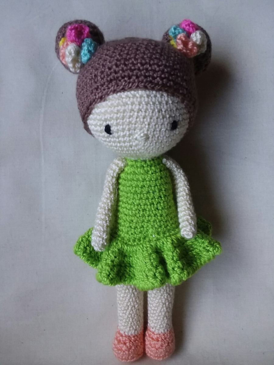 Muñecas Tejidas En Crochet Amigurumihermosa