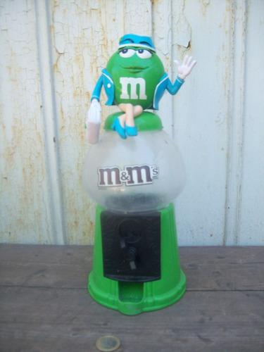 muñeco azafata dispenser m & m