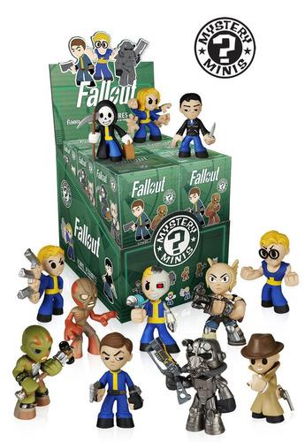 muñeco figura acción funko fallout mystery mini - one