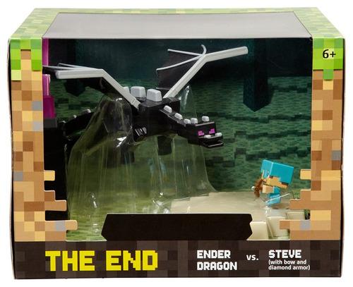 muñeco figura acción minecraft mini figure battle box the