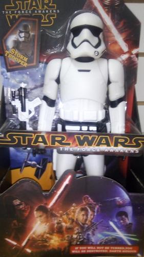 muñeco star world storm trooper 30cm