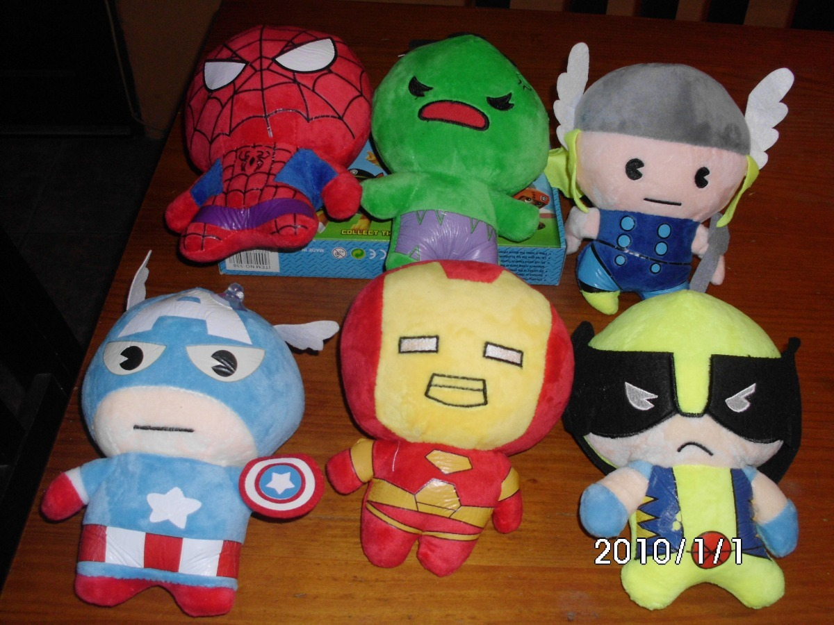 new style 449be 633a8 Muñecos Peluche Avengers.