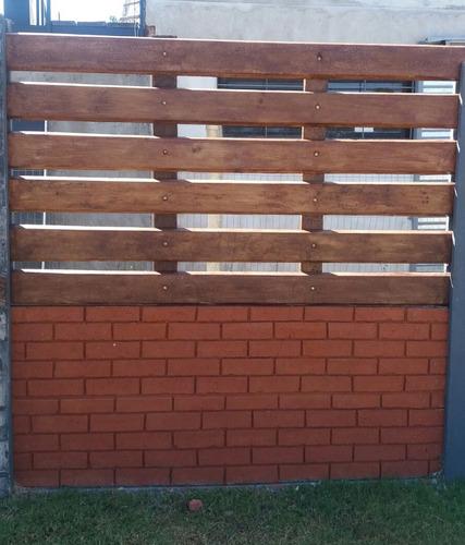 muros linderos prefabricados en hormigón