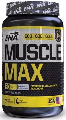 muscle max ena 90 tabletas - envios a todo el pais!