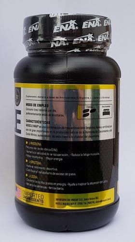 muscle max ena masa muscular pre entreno (90 tabletas)