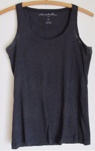 musculosa chocolate talle 42