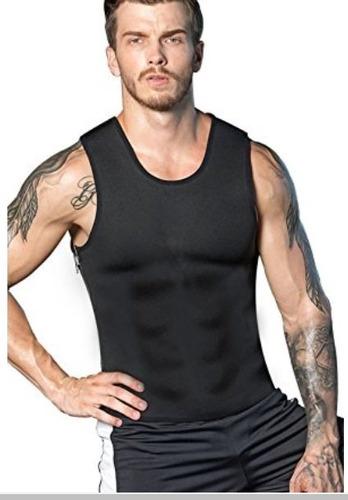 musculosa de neopreno fitness gym hombre sin cierre