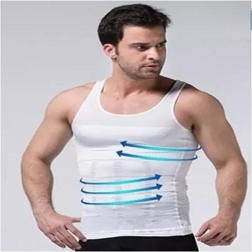 musculosa faja hombre reduce compresion corrige postura mpro