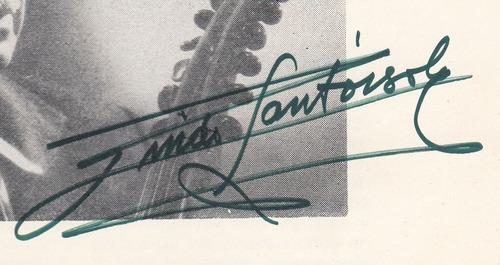 musica uruguay italia guido santorsola catalogo autografiado