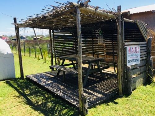 muy buena cabaña, inmejorable ubicacion, a pasos de la playa