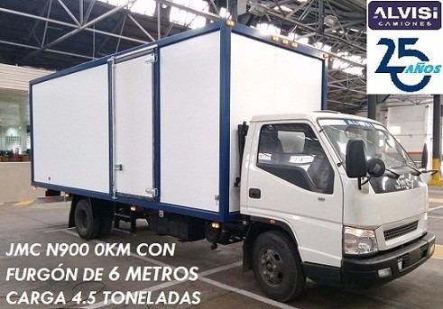 n900 0k furgón de 6 metros isopanel 5cm full precio sin iva