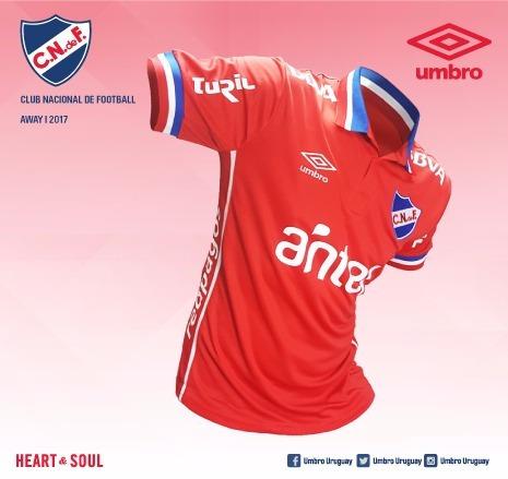 nacional fútbol camiseta club