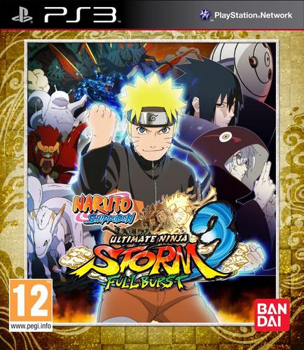 naruto shippuden ult. ninja storm 3 full burst dlc juego ps3