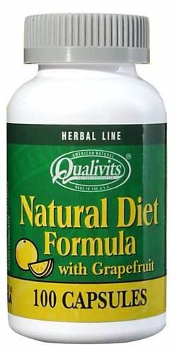 natural diet formula qualivits 100 caps made in usa