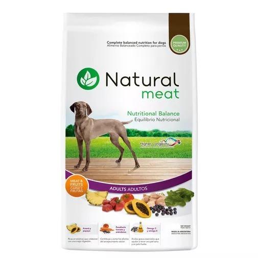 Natural Meat Adulto 15 Kg - Ver Zonas De Envío Gratis - $ 630,00 en ...