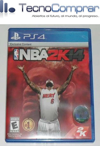 nba 2k14 (ps4 - usado)