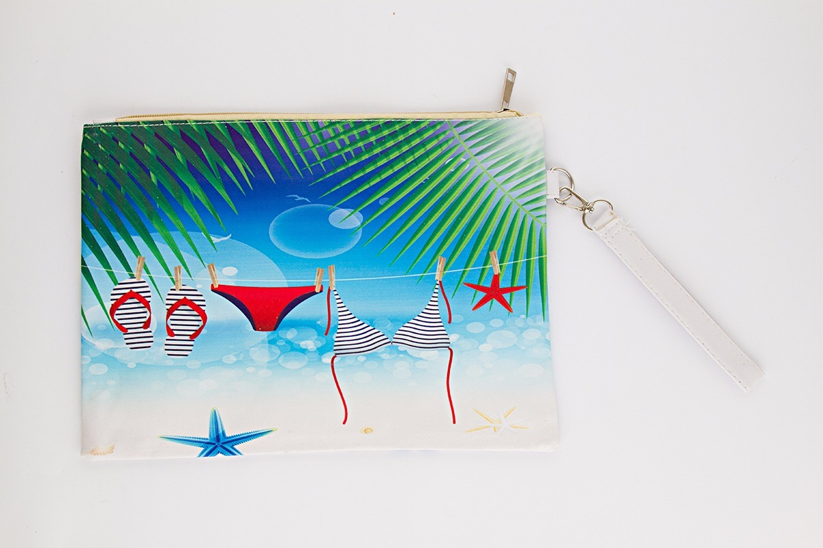 2aa384210 neceser porta cosmético cartuchera playa estuche bikini. Cargando zoom.