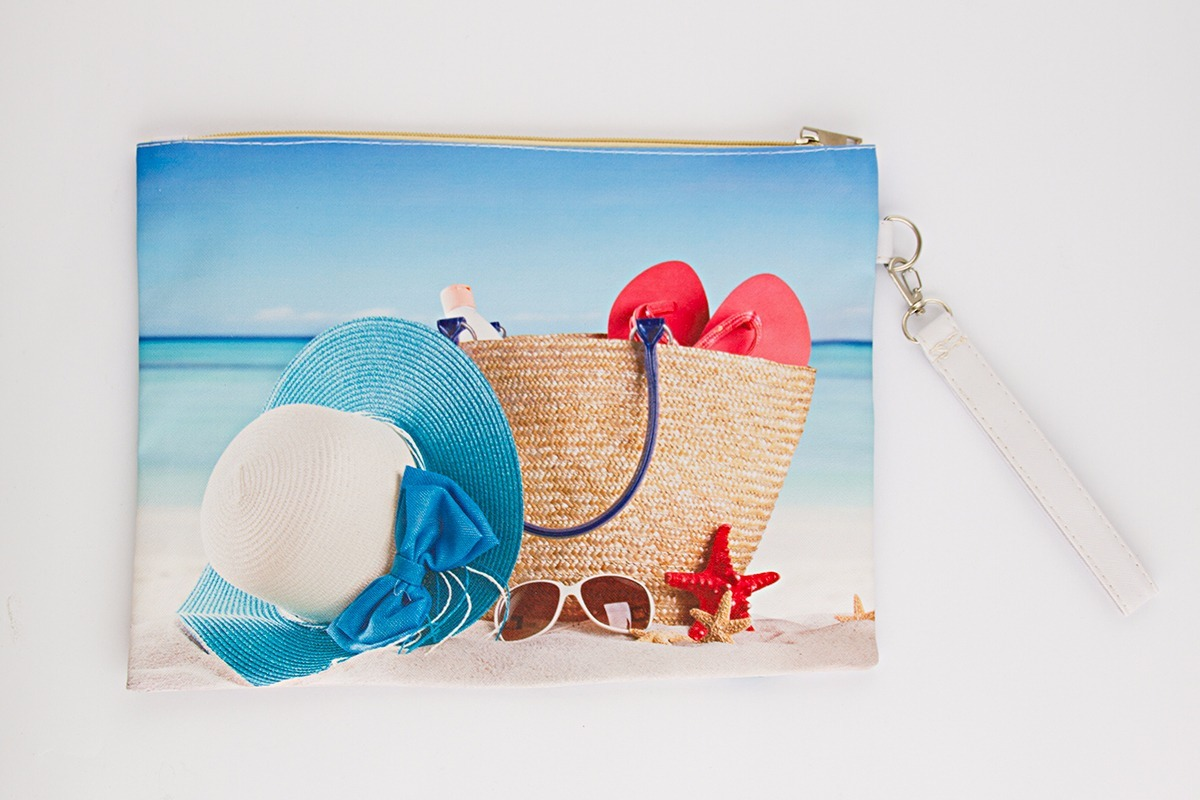 6dfe55393 Neceser Porta Cosmético Cartuchera Playa Estuche Bolso - $ 300,00 en ...