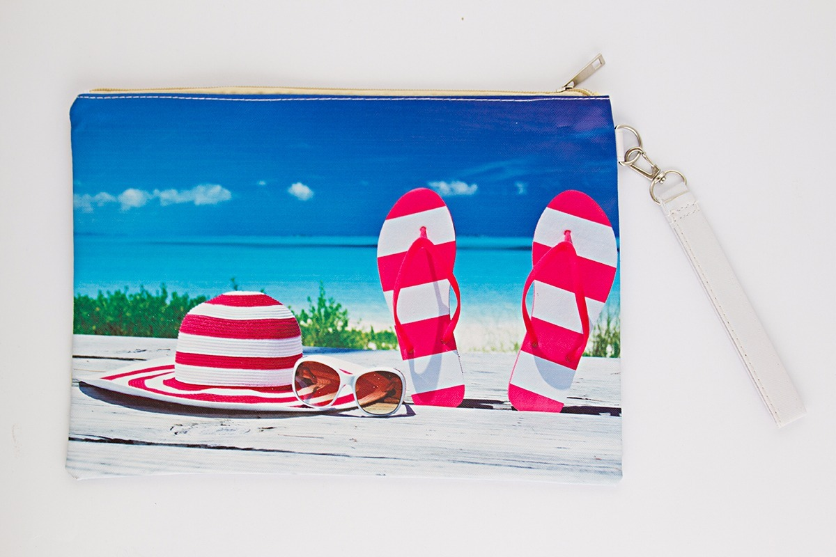 8fb2a9c92 neceser porta cosmético cartuchera playa estuche ojotas. Cargando zoom.