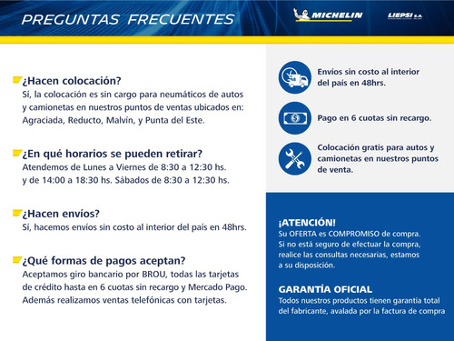 neumático de auto michelin 185/55 r15 energy xm2  86v