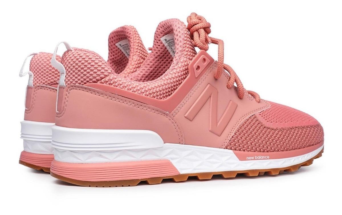 new balance 574 niña mujer rosa tri sport