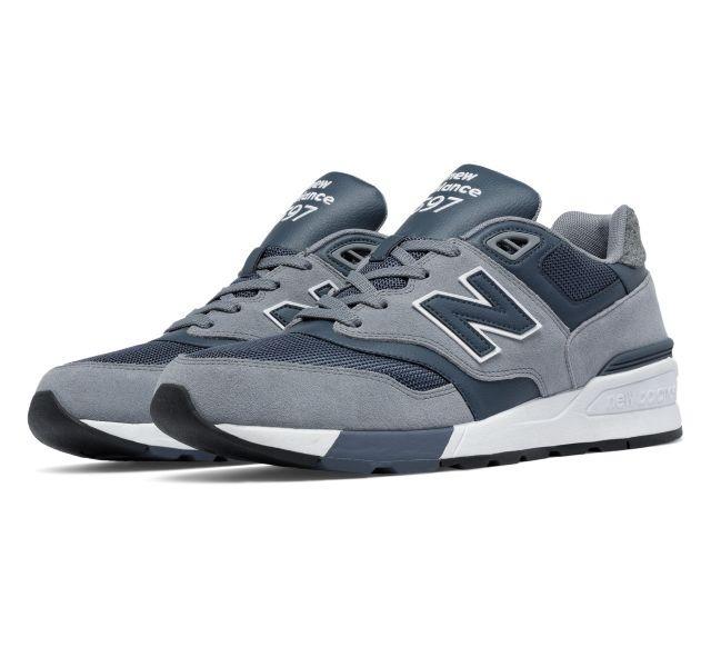 new balance hombres gris zapatillas