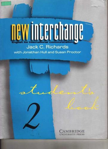 new interchange students book 2 english for international c