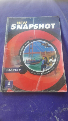 new snapshot starter student book