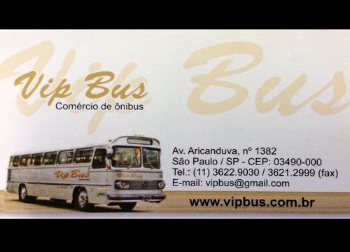 ônibus escolar 42 lugares curto 10/10 financia 100% vipbus