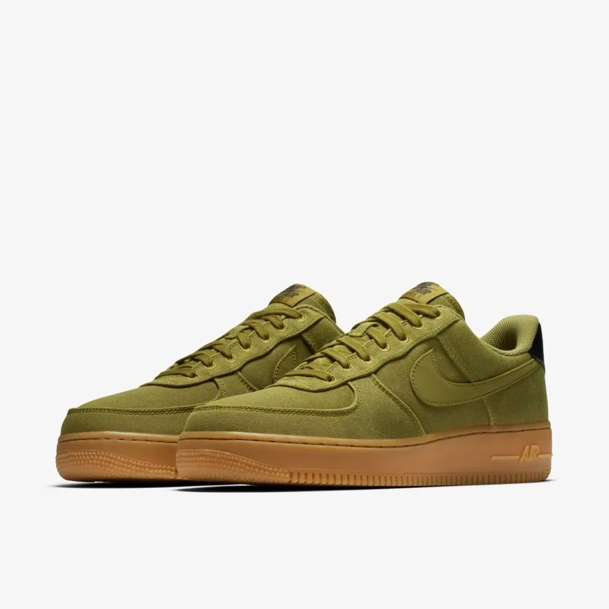 nike air force 1 verde hombre