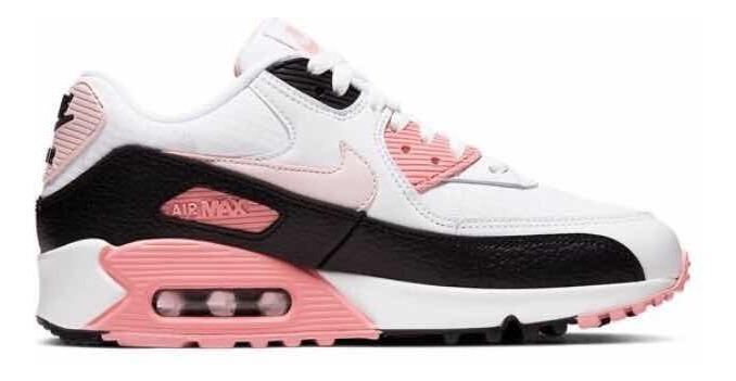 Nike Air Max 90 | Zapatos Mujer Nike Air Max 90 Rosa Blanco