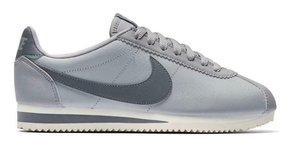 détaillant en ligne b60ad 0e241 Nike Cortez Classic Leather Gris Original Dama X Pedido