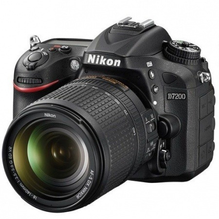 nikon d7200, 24mp, lente 18-140, reflex profesional mfshop
