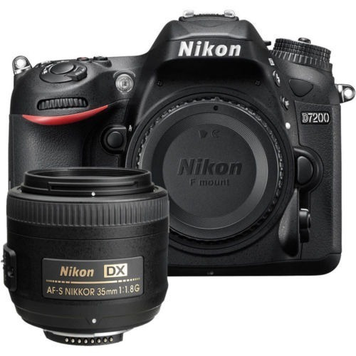 nikon d7200 24mpx expped 4 lente 35mm 1.8