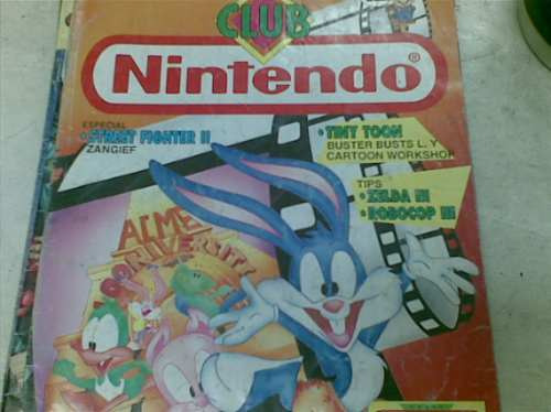 nintendo club revista n12 año 1993