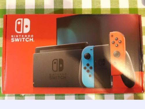 nintendo switch+2 juegos+estuche+vidrio oferta