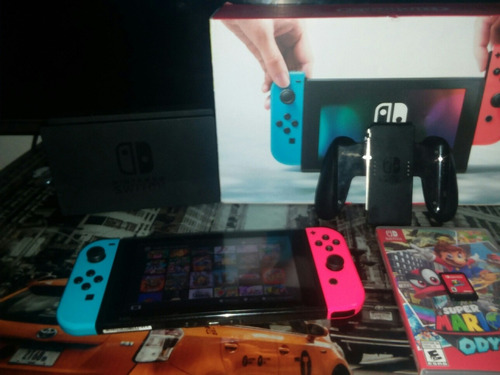 nintendo switch con tv
