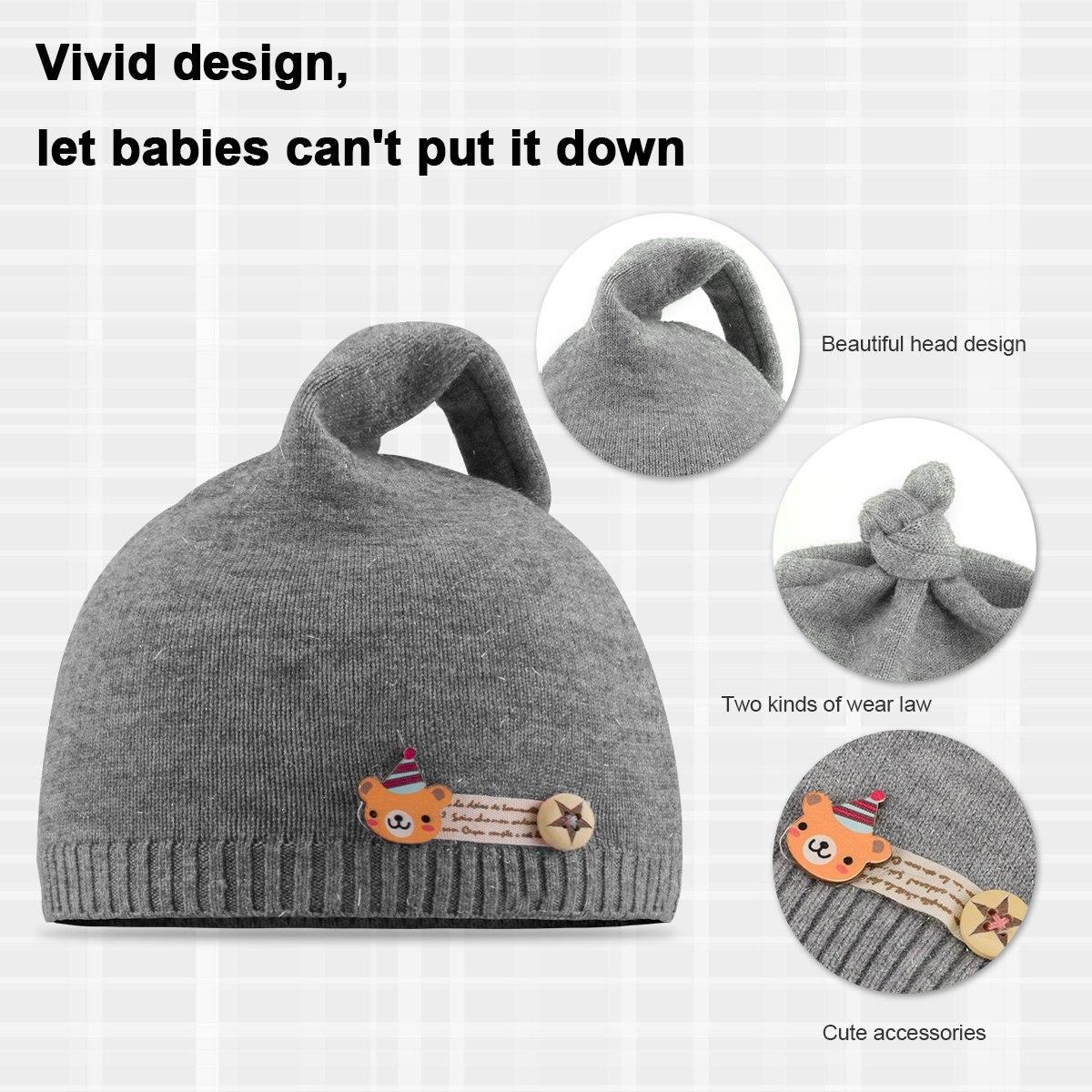 Niofei 2 Pack Baby Winter Beanie Hats Para Bebés Unisex N - U$S 86 ...