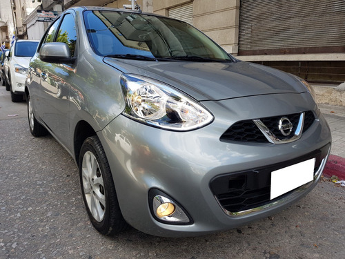 nissan march 2015   extra full  con service oficial!!
