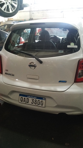 nissan march ext.full aut 1.6 - año 2014. impecable !!!