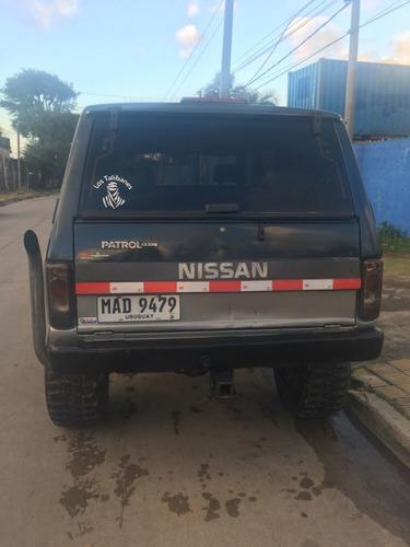 nissan patrol 4x4 motor 4.2 turbo posible permuta