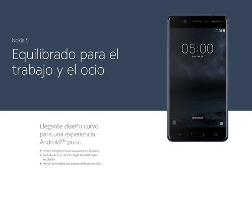 nokia 5 16gb lte negro smartphone