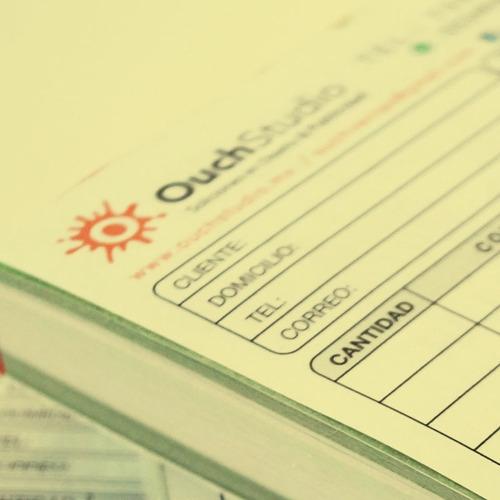 notas de venta impresión a color autocopiante con envío