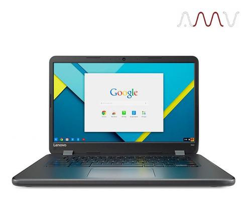 notebook chromebook lenovo 14` intel n3060 2gb ram 16gb amv