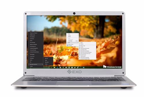 notebook exo e17 ips 13.3 32gb 4gb hdmi bluetooth fullhd usb