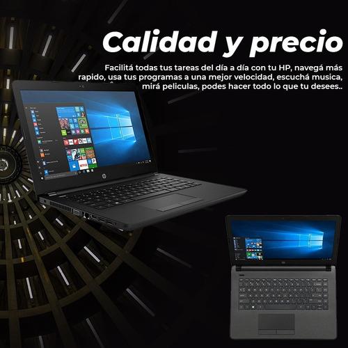 notebook hp 14-  intel 4gb ram - purpura celtronic paysandú