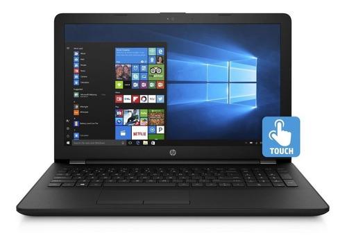 notebook hp nueva quad core 4 gb ddr4 1tb hdmi touch win10