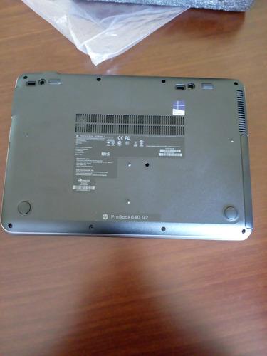 notebook hp probook 640 g2 i5 ssd 128gb 4gb (zerado !!!)